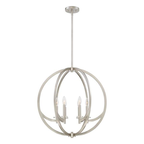 Quoizel Orion Vintage Bronze Single Modern/Contemporary Stained Glass Bowl Pendant