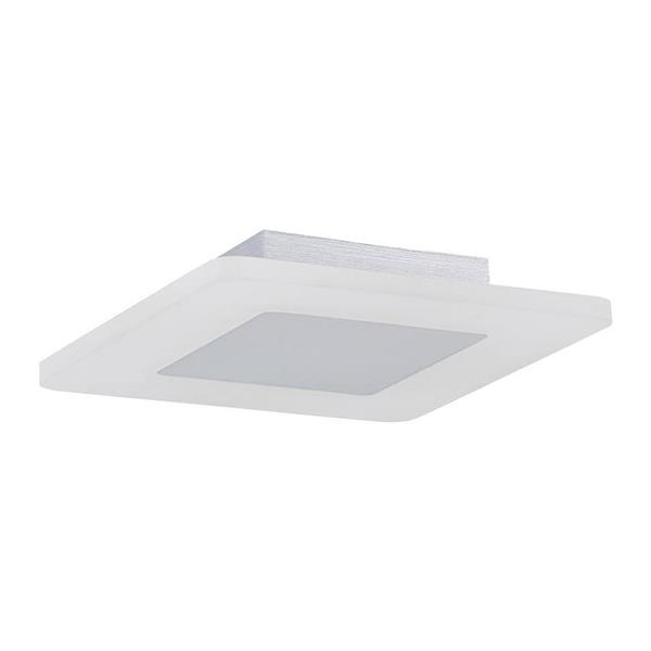 Quoizel Platinum Aglow 11-in W White Lustre LED Flush Mount Light