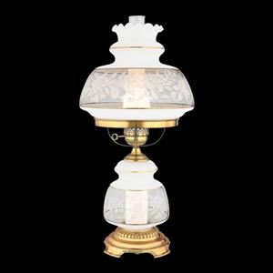 Quoizel 20-in Satin Lace Accent 2-Light Table Lamp