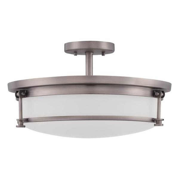 Quoizel 5-Light Chrome Transitional Shaded Chandelier