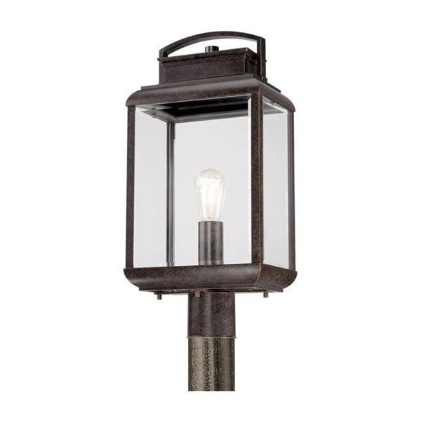 Quoizel Byron 21-in Imperial Bronze Post Light