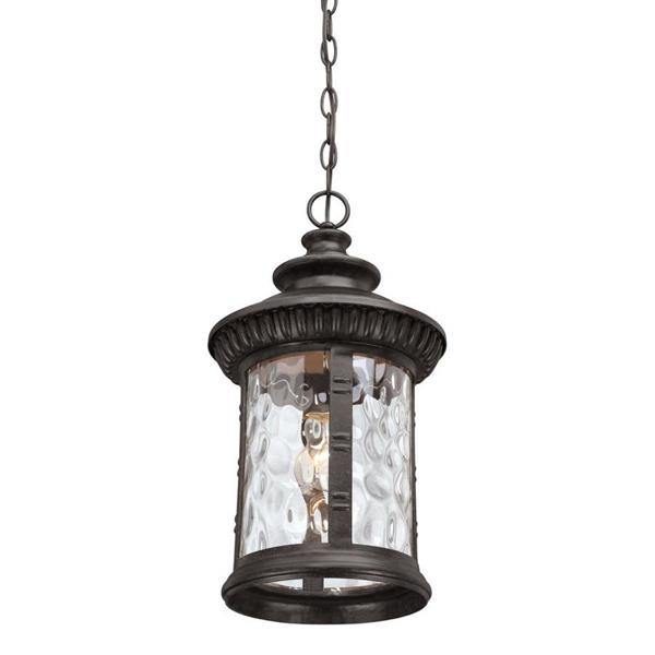 Quoizel Chimera 11-in Imperial Bronze Traditional Round Lantern Pendant Lighting