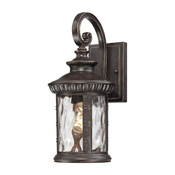 Quoizel Chimera 15.5-in Imperial Bronze Medium Base Outdoor Wall Light