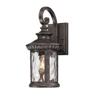 Quoizel Chimera 15.5-in Imperial Bronze Medium Base Outdoor Wall Light