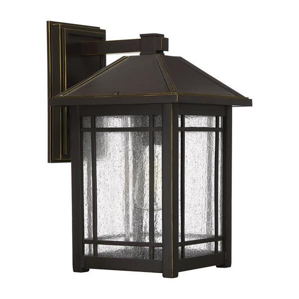 Quoizel Cedar Point 16.5-in Palladian Bronze Medium Base Outdoor Wall Light