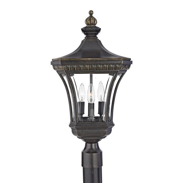 Quoizel Devon 23-in H Imperial Bronze Post Light