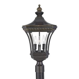 Quoizel Devon 23-in H Imperial Bronze Post Light