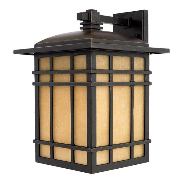 Quoizel Hillcrest 15.5-in Imperial Bronze Medium Base Outdoor Wall Light