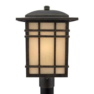 Quoizel Hillcrest 17-in H Imperial Bronze Post Light