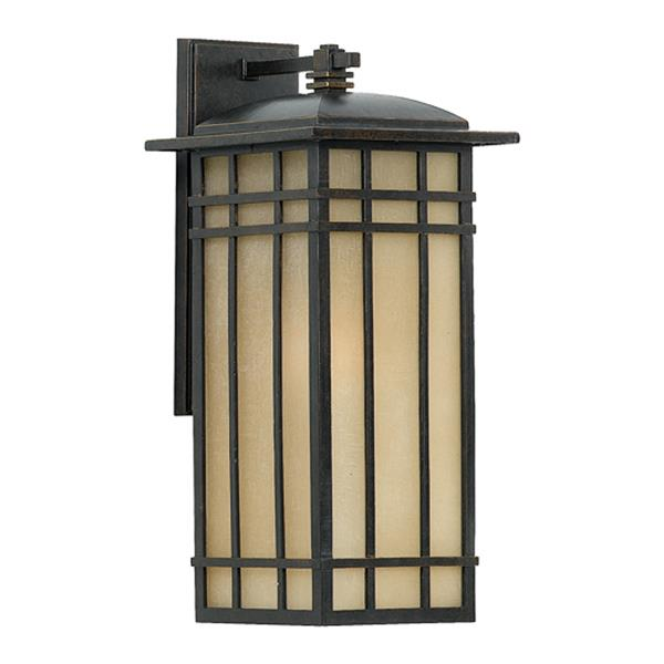 Quoizel Hillcrest 20-in Imperial Bronze Medium Base Outdoor Wall Light