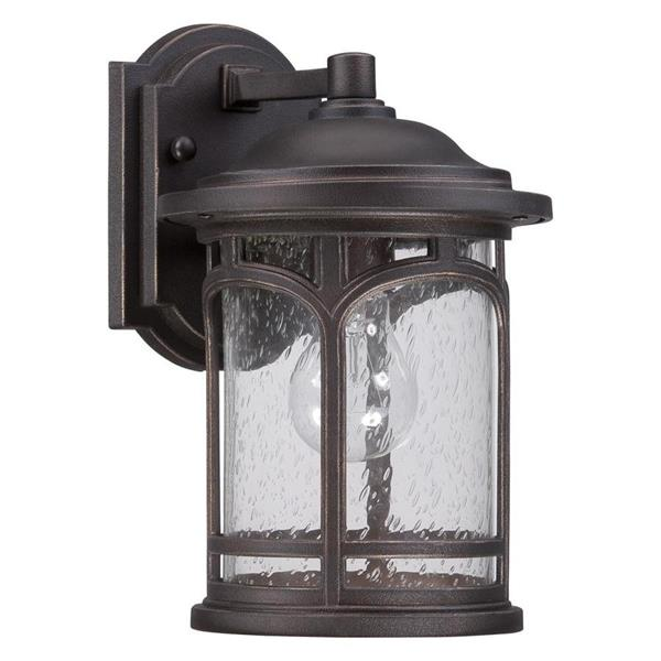 Quoizel Marblehead 11-in Palladian Bronze Base Outdoor Wall Light