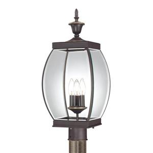 Quoizel Oasis 22-in Medici Bronze Post Light