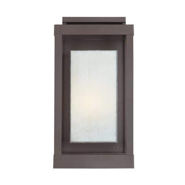 Quoizel Powell 17-in Western Bronze Medium Base Outdoor Wall Sconce