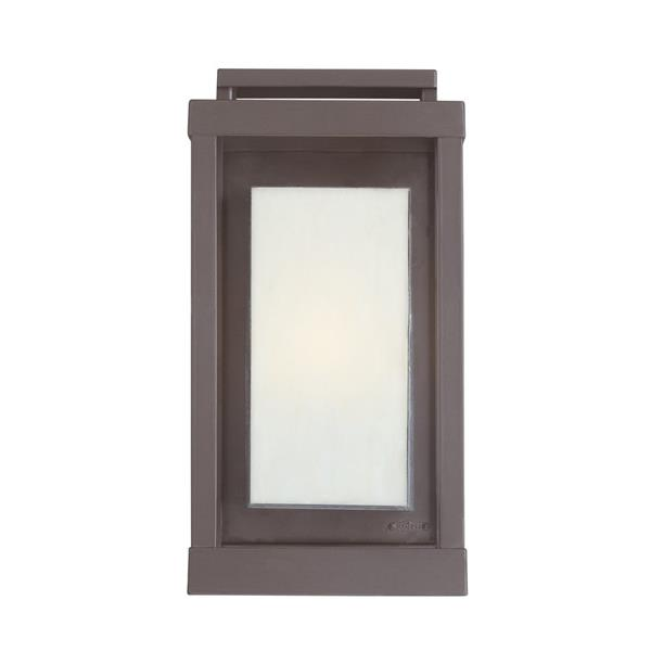 Quoizel Powell 20.5-in Western Bronze Medium Base Outdoor Wall Sconce