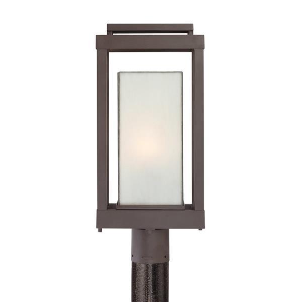 Quoizel Powell 20.5-in Western Bronze Post Light