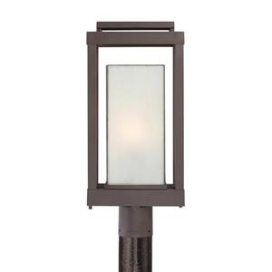 Quoizel Powell 20.5-in Western Bronze Post Light