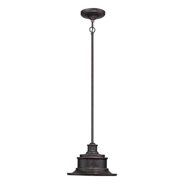 Quoizel Seaford Imperial Bronze Mini Traditional Warehouse Pendant