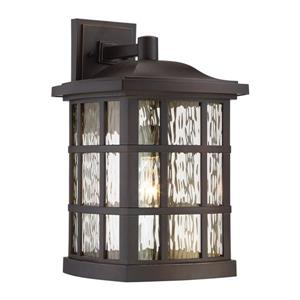 Quoizel Stonington 17-in Palladian Bronze Outdoor Wall Light