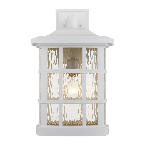 Quoizel Stonington 17-in Fresco Outdoor Wall Light