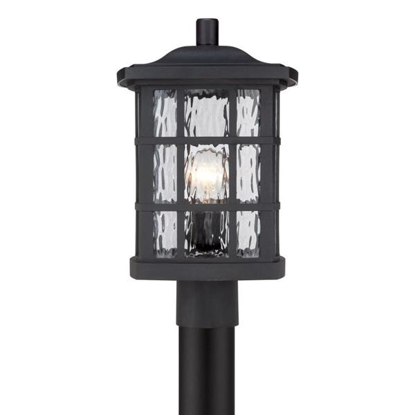 Quoizel Stonington 16.5-in Mystic Black Post Light