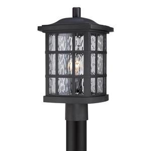 Quoizel Stonington 16.5-in Mystic Black Post Light