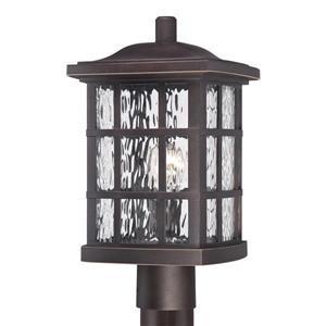 Quoizel Stonington 16-in H Palladian Bronze Post Light