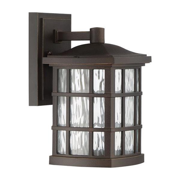 Quoizel Stonington 10.5-in Palladian Bronze LED Outdoor Wall Lantern