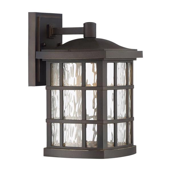 Quoizel Stonington 13-in Palladian Bronze LED Outdoor Wall Light