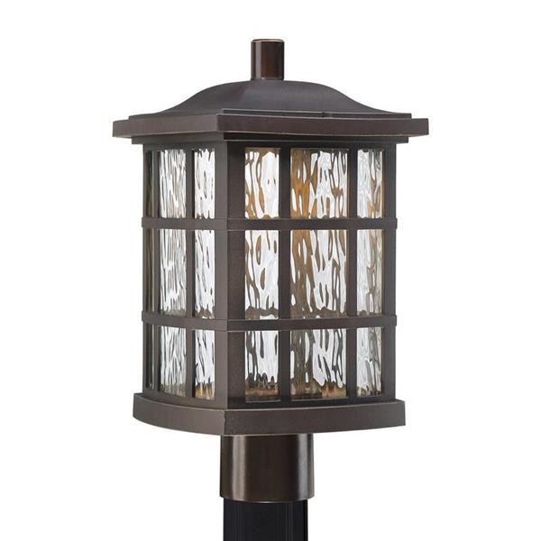 Quoizel Stonington 16-in H Palladian Bronze LED Post Light