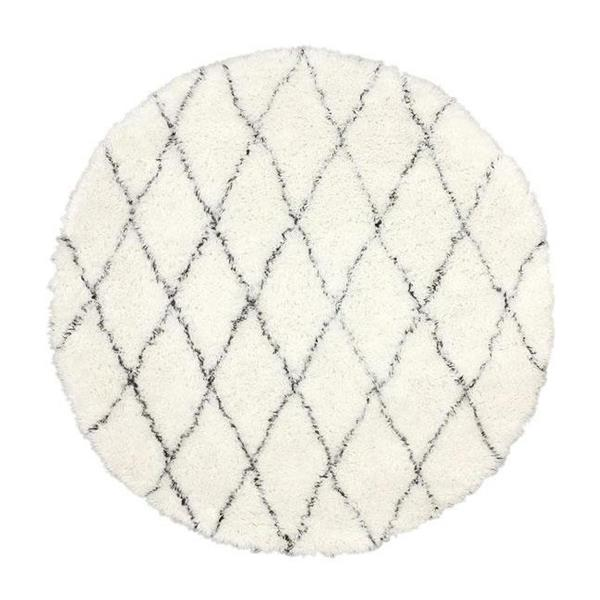nuLOOM Marrakesh 6-ft Round Ivory Indoor Area Rug