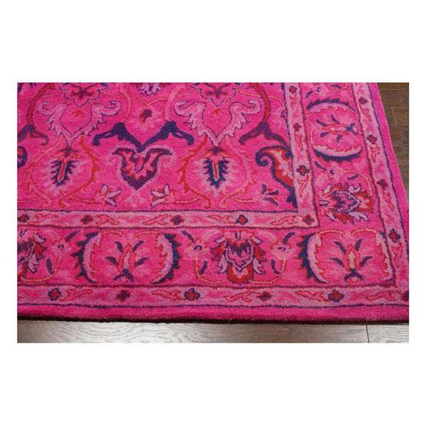 nuLOOM Kimberly 8-ft x 10-ft Rectangular Pink Indoor Area Rug
