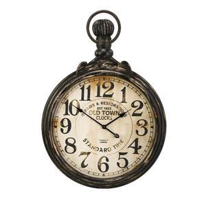 IMAX Worldwide Churchill Analog Round Indoor Wall Clock