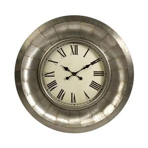 Imax Worldwide Mesick Metal Analog Round Indoor Wall Clock