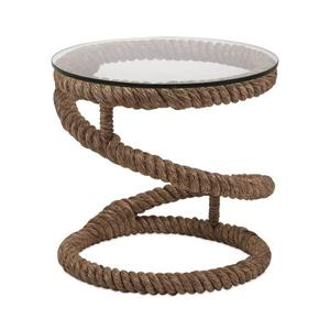 IMAX Worldwide Bedford 21.75-in Natural Rope End Table
