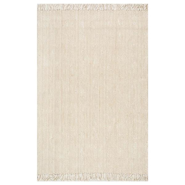 nuLOOM Don Natural 7-ft x 10-ft Handcrafted Area Rug