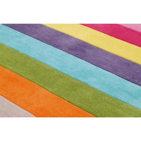 nuLOOM Cine 8-ft x 10-ft Multi-colour Handcrafted Area Rug