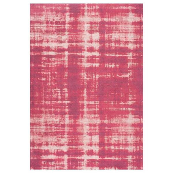 nuLOOM Olga 5-ft x 8-ft Rectangular Pink Indoor Area Rug