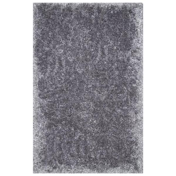 nuLOOM Kristan 5-ft x 8-ft Grey Area Rug