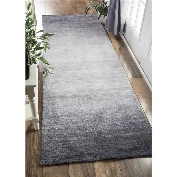 nuLOOM Bernetta 5-ft x 8-ft Rectangular Gray Indoor Area Rug