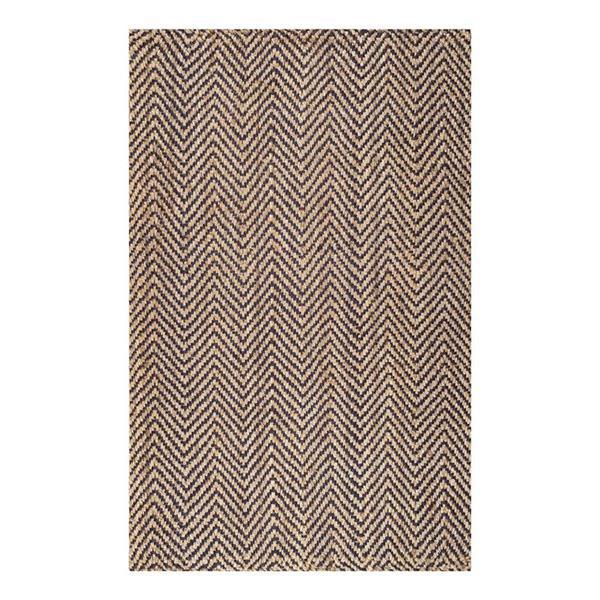 nuLOOM Vania 8-ft x 10-ft Rectangular Brown Indoor Area Rug