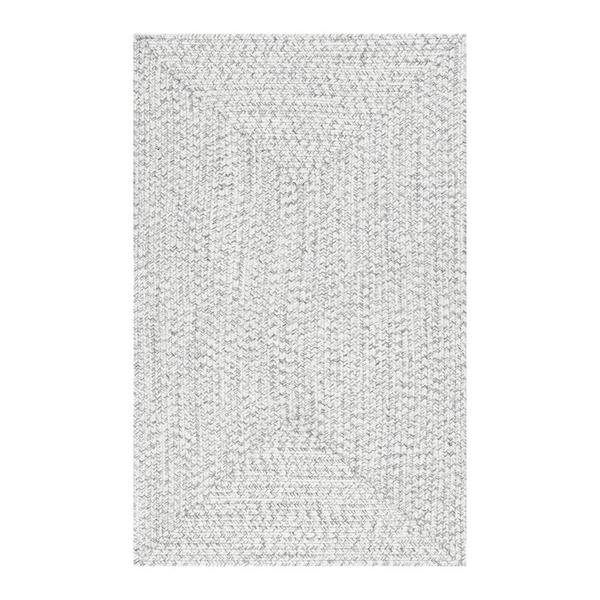 nuLOOM Lefebvre 8-ft x 10-ft Cream Braided Area Rug