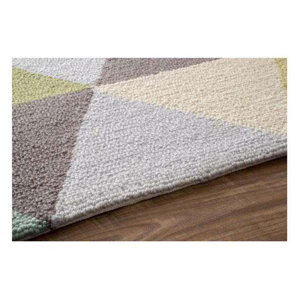 nuLOOM Hand Hooked Anderson Heritage 5-ft x 8-ft Rectangular Indoor Green Area Rug