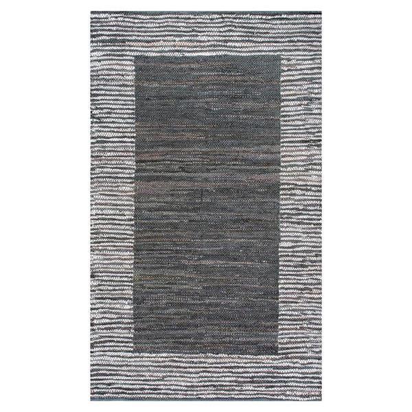 nuLOOM Neta 8-ft x 10-ft Rectangular Gray Indoor Area Rug