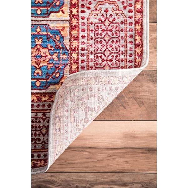 nuLOOM Wonda 5-ft x 8-ft Rectangular Red Indoor Area Rug