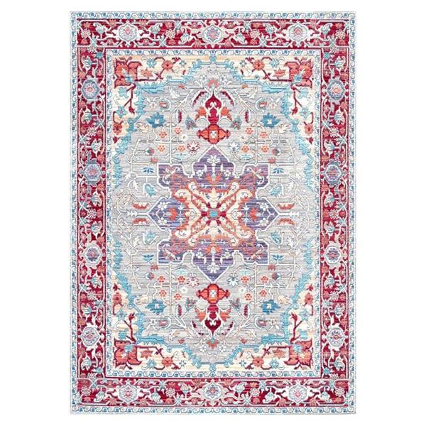 nuLOOM Caterina 3-ft x 8-ft Red Handcrafted Area Rug