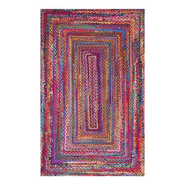 nuLOOM Tammara 8-ft x 10-ft Multi-Colored Rectangular Indoor Handcrafted Area Rug