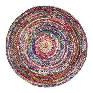 nuLOOM Tammara 8-ft x 8-ft Multi-Colored Round Indoor Handcrafted Area Rug