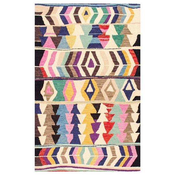 nuLOOM Ofelia 8-ft x 10-ft Rectangular Multicolor Indoor Area Rug