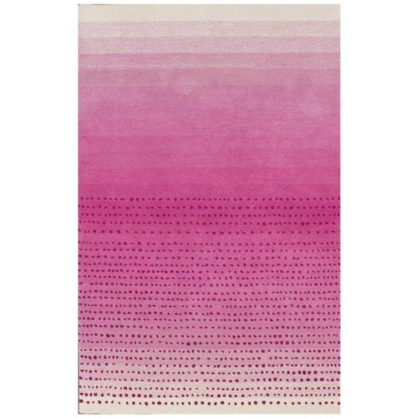 nuLOOM Dcor 8-ft x 10-ft Pink Handcrafted Area Rug