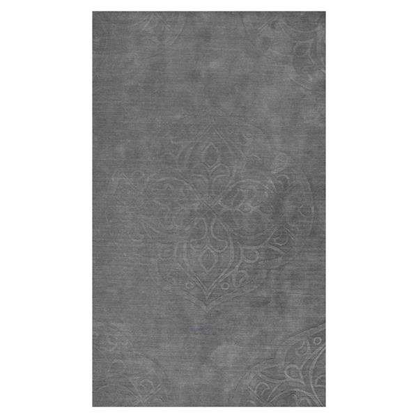nuLOOM Strother 8-ft x 10-ft Gray Rectangular Indoor Handcrafted Area Rug